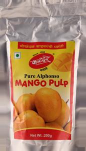 Mango Pulp Standy Pouch